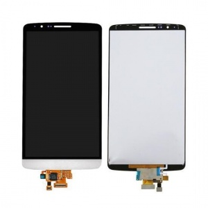 LCD and Touch Screen Digitizer (White) For LG G3 D850/851/855/VS985/LS990/F400