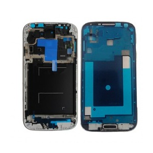Mid-Frame With Home Button For Samsung Galaxy S4 GSM i337/M919/i9505 (Black)
