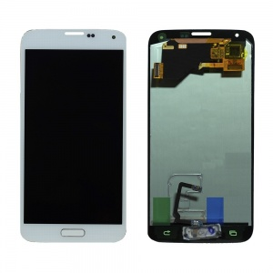LCD Assembly For Samsung Galaxy S5 (White)