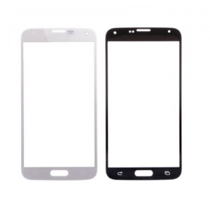 Glass Lens For Samsung Galaxy S5 (White)