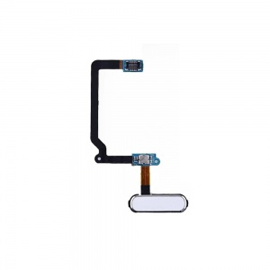 Home Button With Flex Cable For Samsung Galaxy S5 (White)