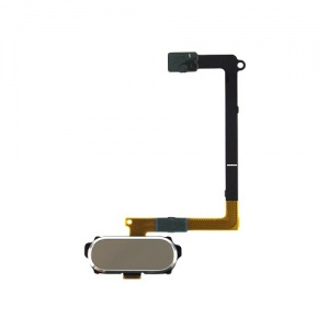 Home Button With Flex Cable For Samsung Galaxy S6 (Gold)