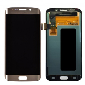 LCD Assembly (Gold) For Samsung Galaxy S6 Edge