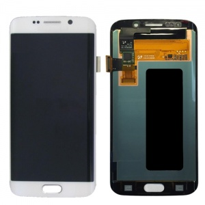 LCD Assembly For Samsung Galaxy S6 Edge (White)