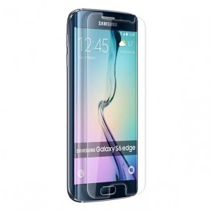 Tempered Glass - Clear For Samsung Galaxy S6 Edge