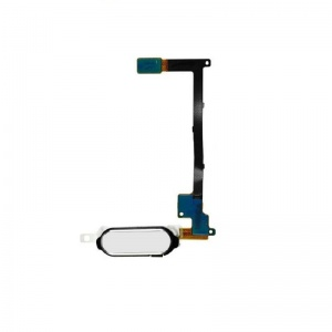 Home Button With Flex Cable (White) For Samsung Galaxy Note 4