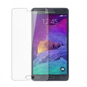 Tempered Glass in Retail Packaging (Curve Edge) - Clear For Samsung Galaxy Note 4