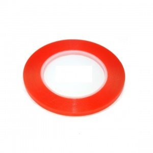 Double Sided Adhesive Tape 1mm*25m - Red
