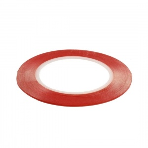 Double Sided Adhesive Tape 2mm*25m- Red