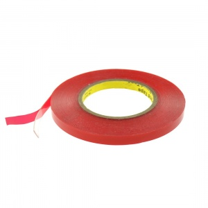 Double Sided Adhesive Tape 5mm*25m- Red