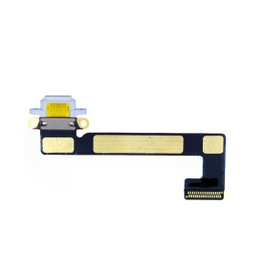 Charging Port with Flex Cable For iPad Mini 2/3 (White)