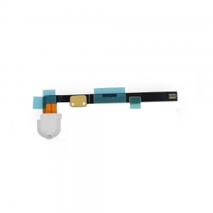 Audio/Headphone Jack with Flex Cable For iPad Mini 2/3 (White)