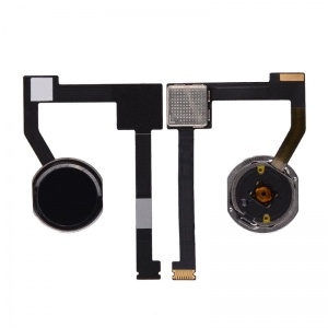 Home Button Key with Flex Cable For iPad Mini 4 (Black)