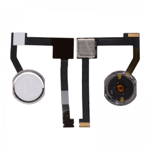 Home Button Key with Flex Cable For iPad Mini 4 (Silver)