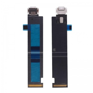 Charging Port Flex Cable (White) For iPad Pro 12.9 inch