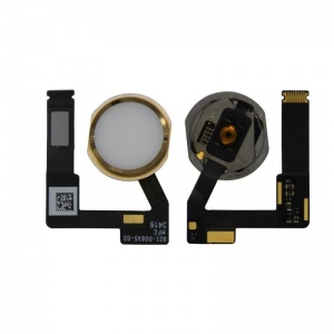 Home Button With Flex For iPad Pro 12.9 2nd Generation (2017) - Gold