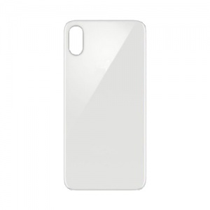 Back Glass (Silver) For iPhone X