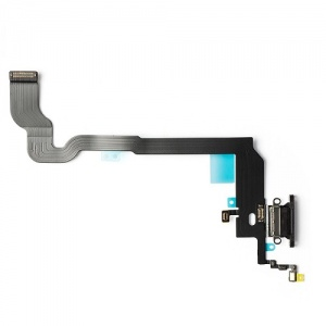 Charging Port Flex Cable For iPhone X (Gray)