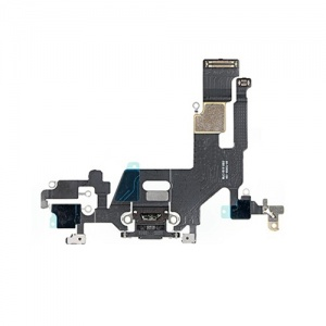 Charging Port Flex Cable For iPhone 11 (Black)