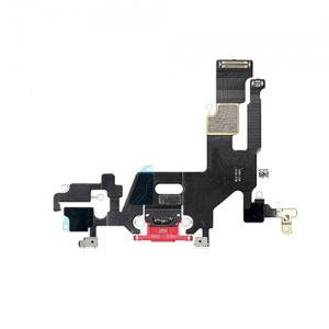 Charging Port Flex Cable For iPhone 11 (Red)