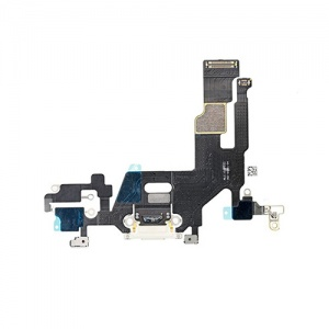 Charging Port Flex Cable For iPhone 11 (White)