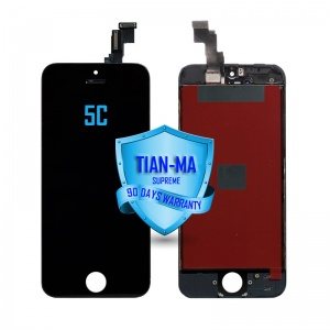 LCD Assembly For iPhone 5C (Supreme Quality Aftermarket, Made by Tian-Ma) (Black)