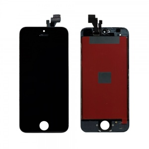 LCD Assembly (Supreme Quality Aftermarket, Made by Tian-Ma) (Black) For iPhone 5