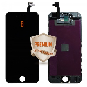 LCD Assembly For iPhone 6 (Premium Quality) (Black)