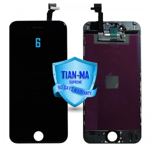 LCD Assembly For iPhone 6 (Supreme Quality Aftermarket, Made by Tian-Ma) (Black)