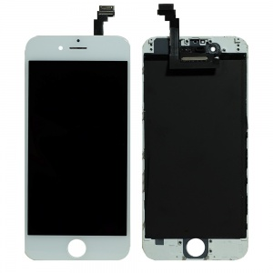 LCD Assembly (Deluxe Quality Aftermarket, Made By FVG) (White) For iPhone 6