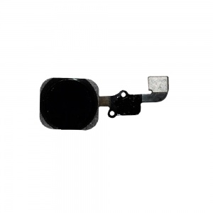 Home Button With Flex Cable (Black) For iPhone 6/6 Plus