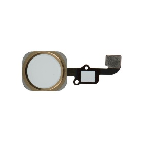 Home Button With Flex Cable For iPhone 6/6 Plus (Gold)