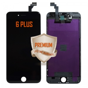 LCD Assembly For iPhone 6 Plus (Premium Quality) (Black)