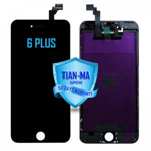 LCD Assembly For iPhone 6 Plus (Supreme Quality Aftermarket, Made by Tian-Ma) (Black)