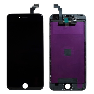 LCD Assembly (Deluxe Quality Aftermarket, Made By FVG) (Black) For iPhone 6 Plus
