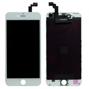 LCD Assembly (Deluxe Quality Aftermarket, Made By FVG) (White) For iPhone 6 Plus