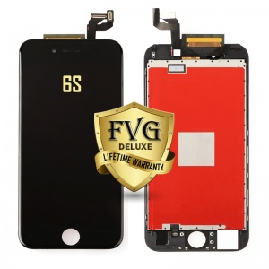 LCD Assembly For iPhone 6s (Deluxe Quality Aftermarket, Made By FVG) (Black)