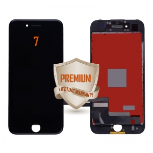LCD Assembly For iPhone 7 (Premium Quality) (Black)