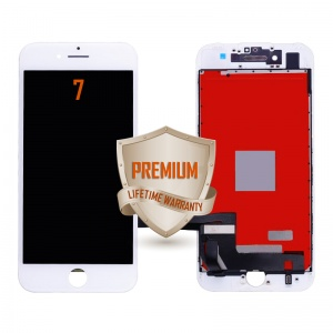 LCD Assembly For iPhone 7 (Premium Quality) (White)