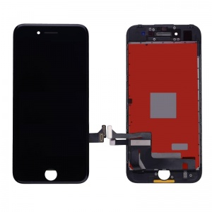 LCD Assembly (Supreme Quality Aftermarket, Made by AUO) (Black) For iPhone 7