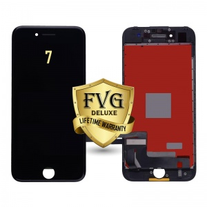 LCD Assembly For iPhone 7 (Deluxe Quality Aftermarket, Made By FVG) (Black)