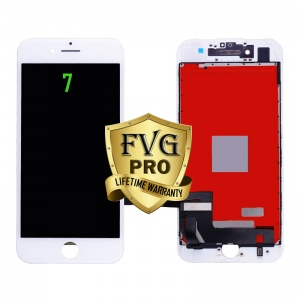 LCD Assembly For iPhone 7 (Deluxe Quality Aftermarket, Made By FVG PRO) (White)