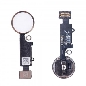 Home Button With Flex Cable For iPhone 7/7 Plus (Gold)