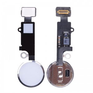 Home Button With Flex Cable For iPhone 7/7 Plus (Silver)