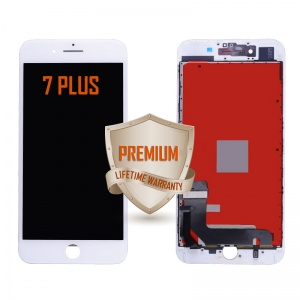 LCD Assembly For iPhone 7 Plus (Premium Quality) (White)