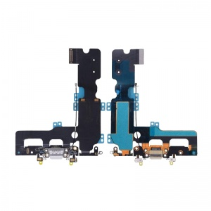 Charging Port Flex Cable (White)