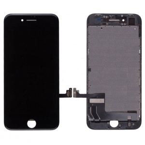 LCD Assembly (Supreme Quality Aftermarket, Made by AUO) (Black) For iPhone 8