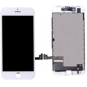 LCD Assembly (Premium Quality) (White) For iPhone 8