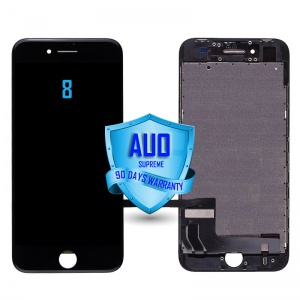 LCD Assembly For iPhone 8 (Supreme Quality Aftermarket, Made by AUO) (Black)
