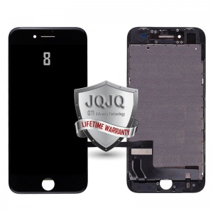 LCD Assembly For iPhone 8 (OT1 Advance Technology, Made By JQJQ) (Black)